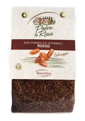 RISO PARBOILED INTEGRALE ROSSO