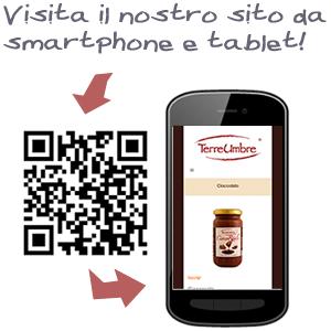 Terre Umbre sul tuo smartphone e tablet