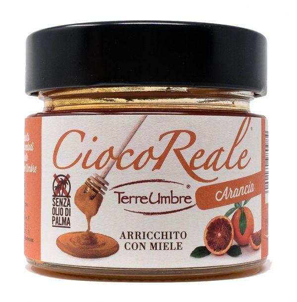La bontà delle nocciole italiane, il piacere del cioccolato e l'energia del miele finalmente legate in una crema spalmabile al gusto di arancia.  Buono con il pane o per farciture di dolci.