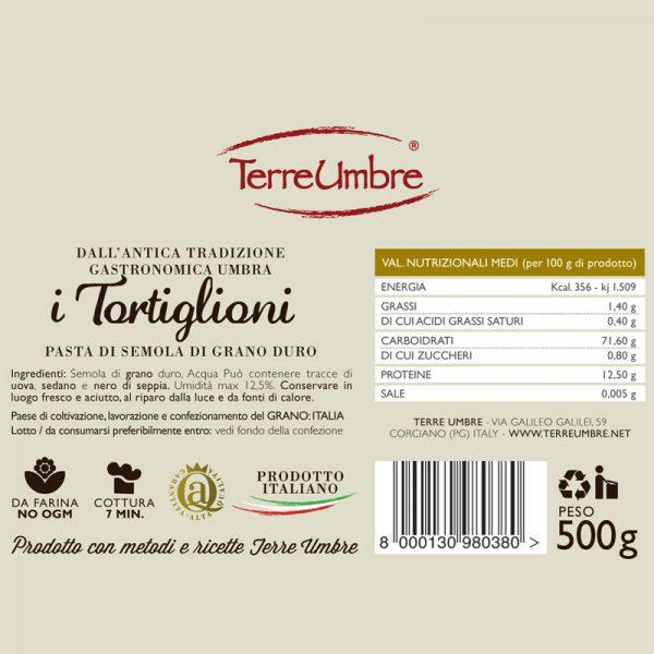 Pasta-TORTIGLIONI
