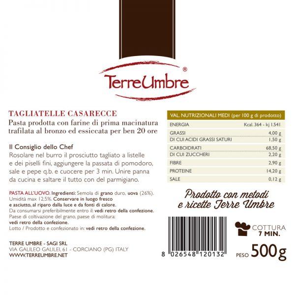 Tagliatelle-Cas