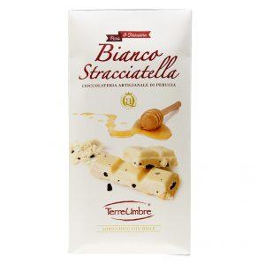 TAVOLETTA CIOCCOLATO BIANCO ALLA STRACCIATELLA – 100 Gr.
