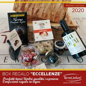 """Box Regalo Prodotti Tipici Umbri """"Le Eccellenze"""""""